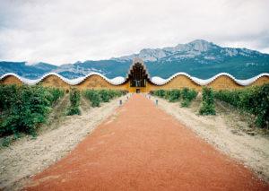 Ysios winery sam worked in, Rioja Spain