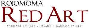 Rojomoma Red Art logo handmade med